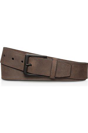 SHINOLA Men Belts - Nubuck Leather Utility Belt