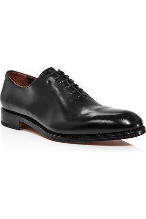 Salvatore Ferragamo Men's Amsterdam Burnished Leather Oxfords