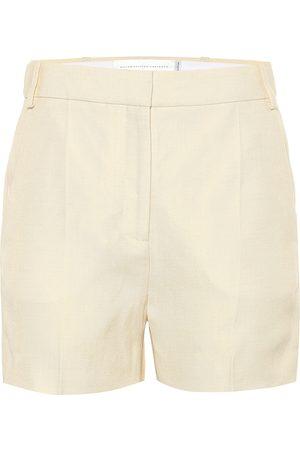 Victoria Victoria Beckham Tailored linen-blend shorts