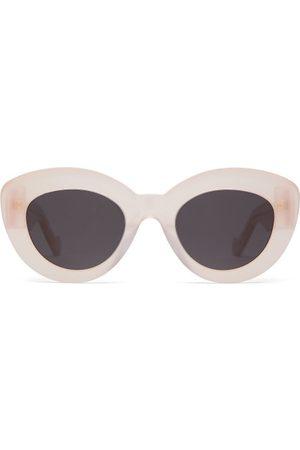 Loewe Butterfly Cat Eye Acetate Sunglasses - Womens