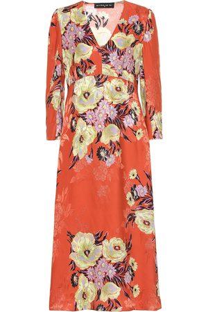Etro Floral silk-blend jacquard dress
