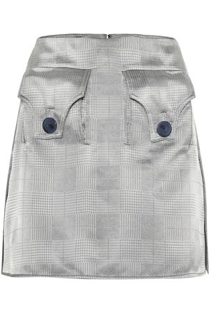 Ellery Women Mini Skirts - Nothing Matters gabardine miniskirt