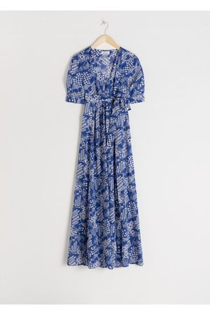 & OTHER STORIES Floral Print Midi Dress