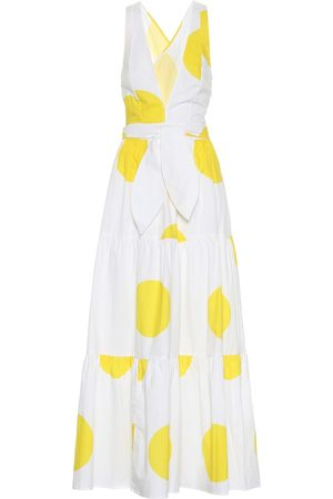 ALEXANDRA MIRO Exclusive to Mytheresa – Raphaela dotted cotton maxi dress