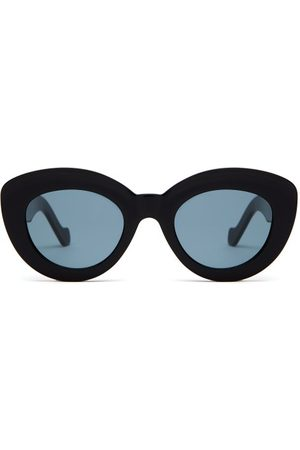 Loewe Round Cat-eye Acetate Sunglasses - Womens
