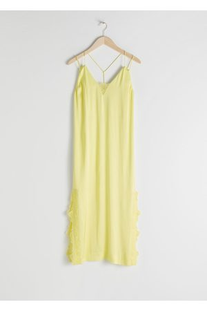 & OTHER STORIES Women Casual Dresses - Satin Midi Slip Dress