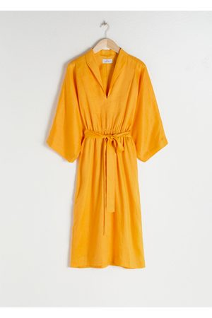 & OTHER STORIES Belted Linen Kaftan