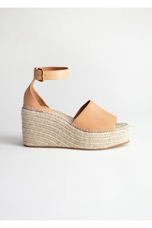 & OTHER STORIES Espadrille Sandal Wedges