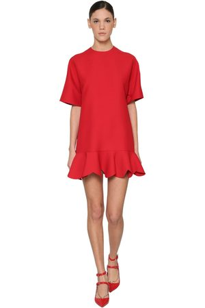 Valentino Women Dresses - Silk & Wool Crepe Dress