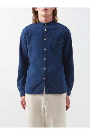 OLIVER SPENCER Washed Cotton Shirt - Mens