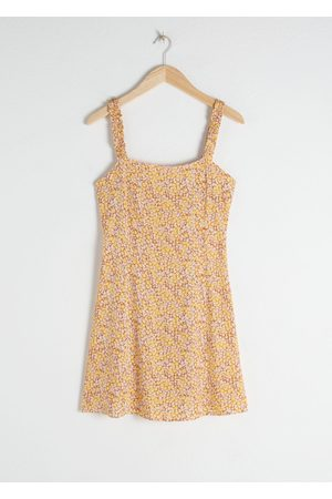 & OTHER STORIES Women Party Dresses - Ruffle Strap Mini Dress