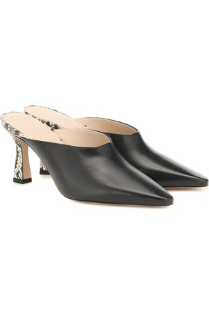 Wandler Lotte leather mules