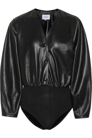 Nanushka Exclusive to Mytheresa – Dara faux leather bodysuit