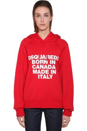 Dsquared2 Printed Sweatshirt Hoodie