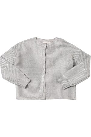 Stella McCartney Wool & Cotton Knit Cardigan