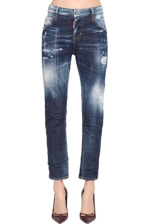 Dsquared2 Cool Girl Cotton Denim Pants