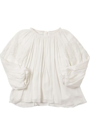 Chloé Viscose Crepe Shirt W/ Lace Detail