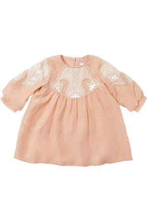 Chloé Embellished Silk Dress