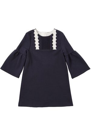 Chloé Embroidered Milano Jersey Dress