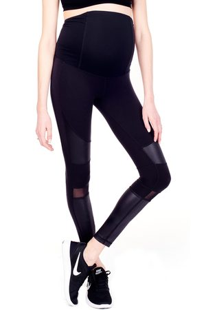Ingrid & Isabel Women's Ingrid & Isabel Moto Maternity Leggings