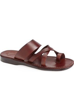 Jerusalem Sandals Men's 'The Good Shepherd' Leather Sandal