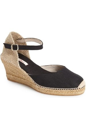 Toni Pons Women Wedges - Women's 'Caldes' Linen Wedge Sandal