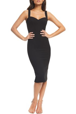 Dress The Population Women's Nicole Sweetheart Neck Cocktail Dress
