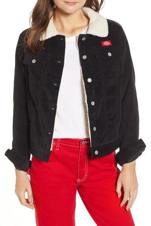 Dickies Women's Faux Shearling Lined Corduroy Jacket