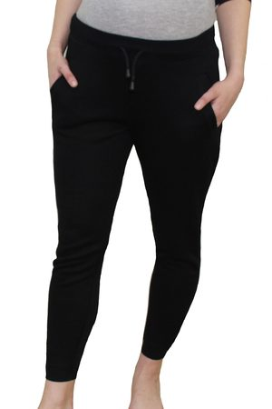 Modern Eternity Women's French Terry Maternity Jogger Pants