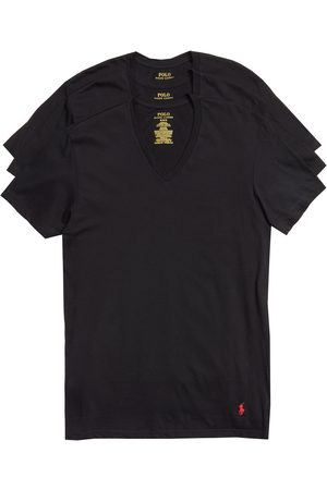 LAUREN RALPH LAUREN Men's Polo Ralph Lauren 3-Pack V-Neck T-Shirts