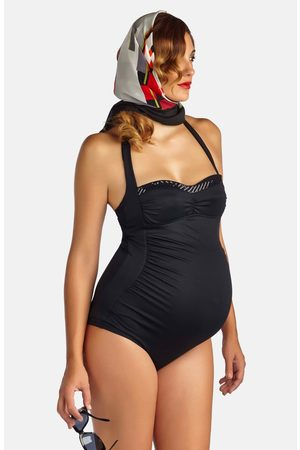 Pez D'Or Women's 'Retro' Ruched One-Piece Maternity Swimsuit