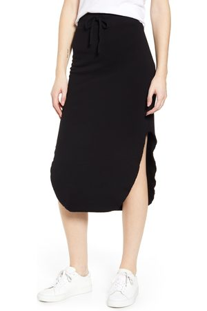 FRANK & EILEEN Women's Tee Lab Long Fleece Skirt
