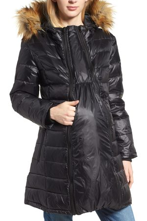 Modern Eternity Women's Quilted 3-In-1 Maternity/nursing Parka