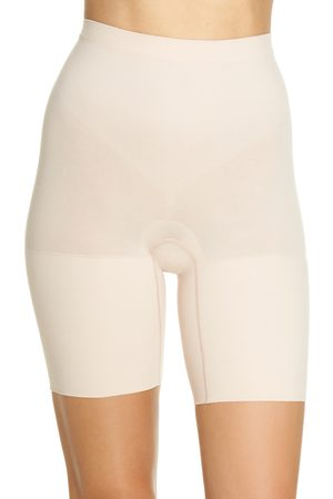 SPANXR Plus Size Women's Spanx Power Short Mid Thigh Shaper