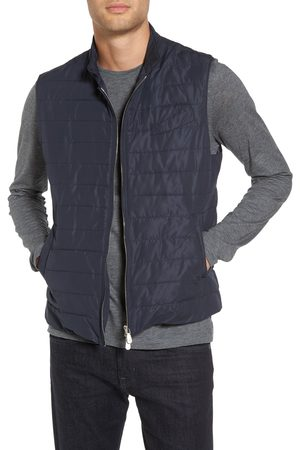 ELEVENTY Men's Slim Fit Full Zip Vest