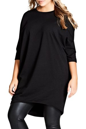 City Chic Plus Size Women's Oversize Knit Tee