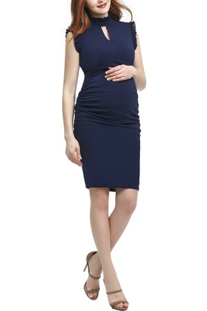 Kimi and Kai Women's Madeline Maternity Body-Con Dress
