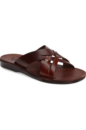 Jerusalem Sandals Men Sandals - Men's Jesse Slide Sandal