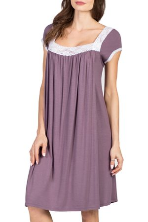 Savi Mom Women's Joliet Maternity/nursing Nightgown