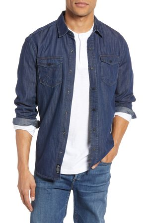 Mavi Men's Rio Deep Brushed Denim Shirt
