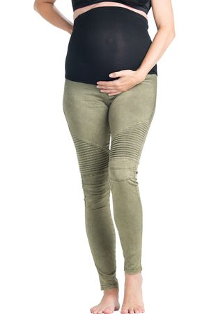 Preggo Leggings Women's Moto Maternity Leggings