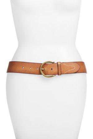 Frye Women's Campus Leather Belt