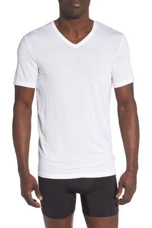 Calvin Klein Men's Ultrasoft Stretch Modal V-Neck T-Shirt