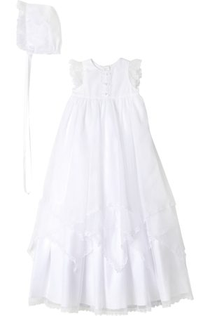 Pippa & Julie Infant Girl's Christening Gown & Bonnet