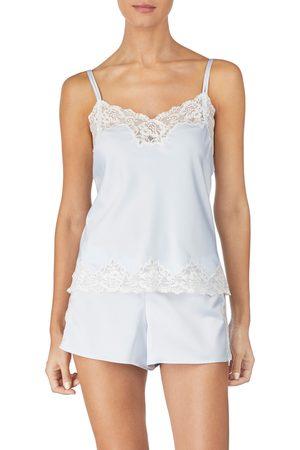 LAUREN RALPH LAUREN Women's Lace Trim Short Pajamas