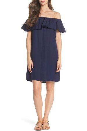 Tommy Bahama Women's Off The Shoulder Cover-Up Dress