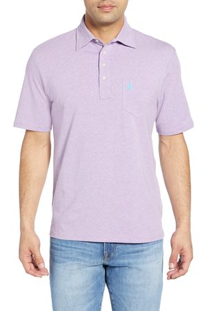 Johnnie-o Men's Classic Fit Heathered Polo