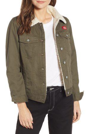 Dickies Women's Fleece Lined Twill Jacket
