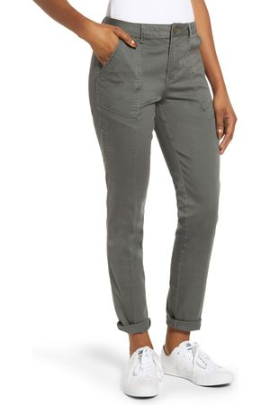 Wit & Wisdom Women's Flex-Ellent High Waist Cargo Pants