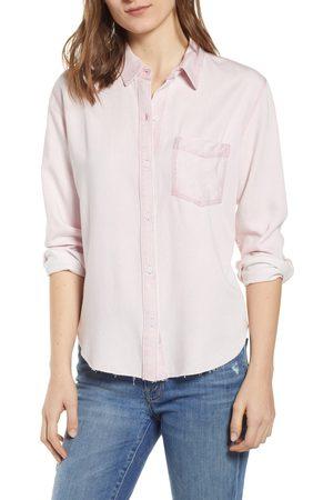 Rails Women's Ingrid Raw Hem Chambray Shirt